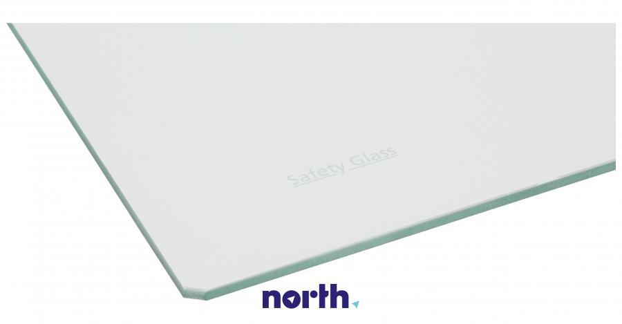Półka szklana bez ramek do komory chłodziarki do lodówki Beko 4561812000,1