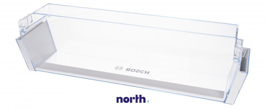 Dolna półka na drzwi chłodziarki do lodówki Bosch 00746691,3