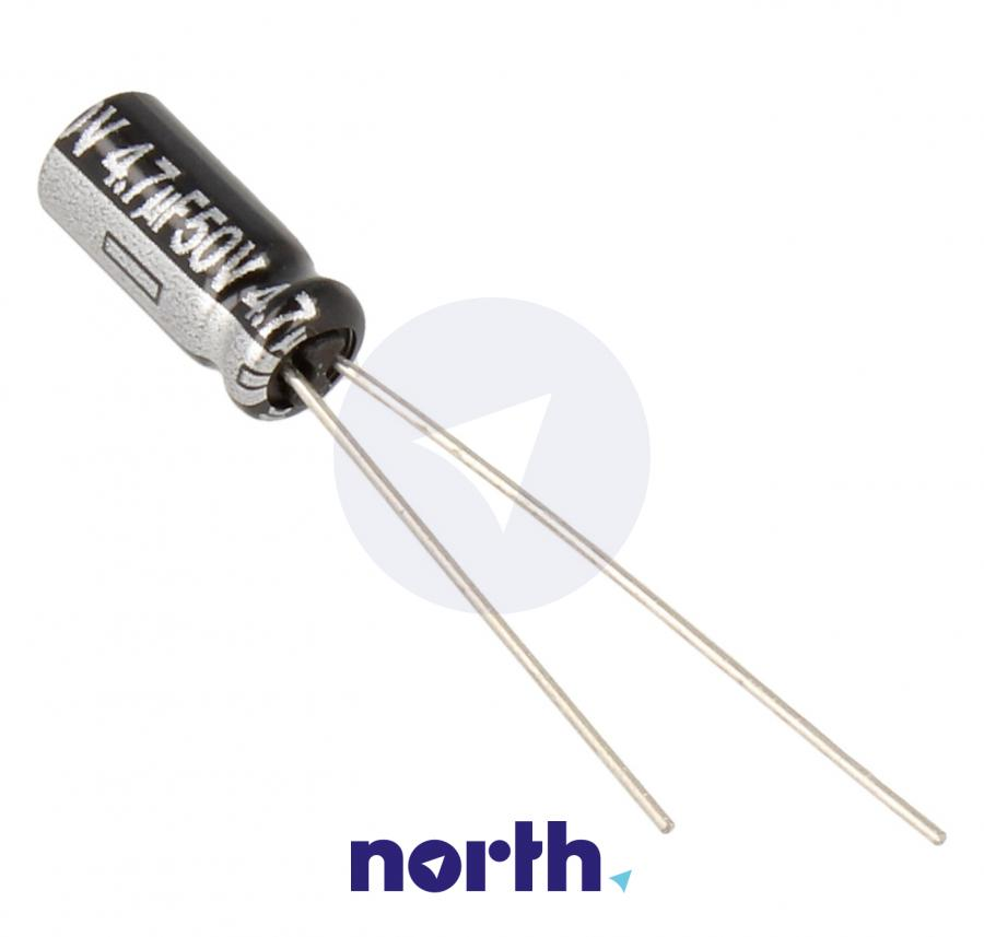 Kondensator elektrolityczny 4.7uF/50V ECA1HHG4R7,0