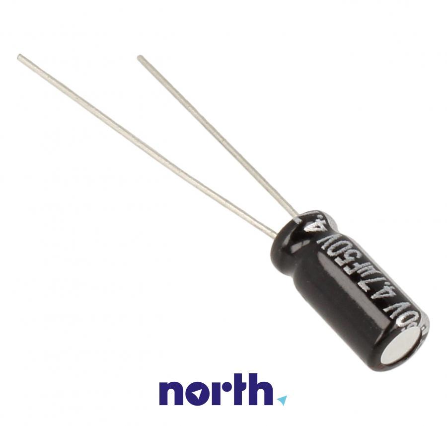 Kondensator elektrolityczny 4.7uF/50V ECA1HHG4R7,1
