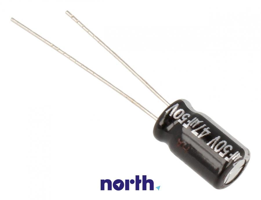 Kondensator elektrolityczny 47uF/50V ECA1HHG470,1