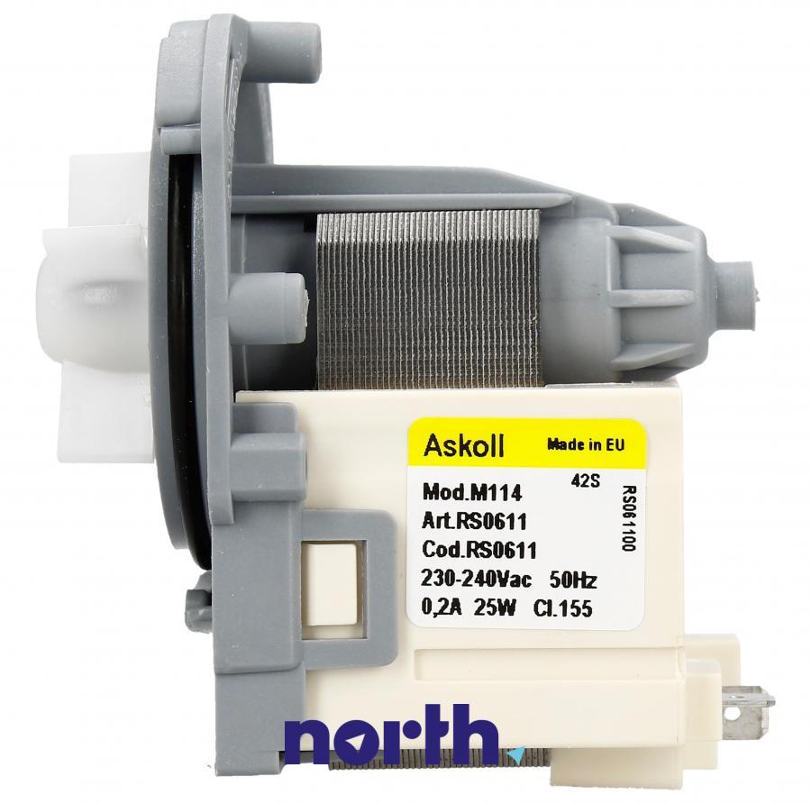 Silnik pompy odpływowej do pralki AEG,4