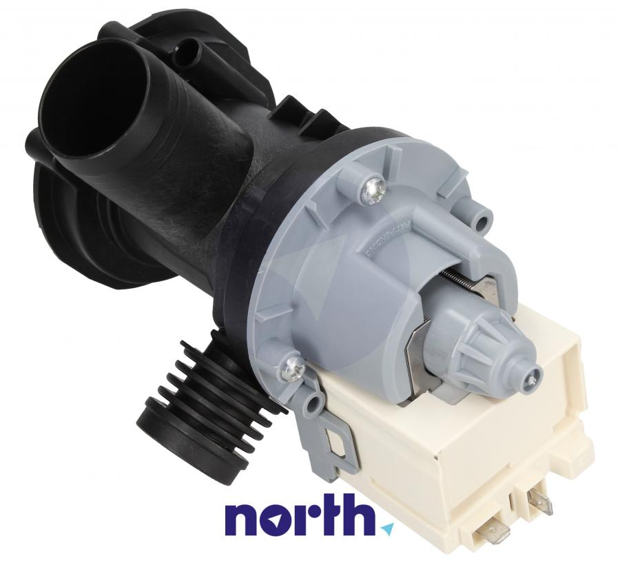 Pompa odpływowa kompletna (silnik + obudowa) do pralki Whirlpool 488000517420,1