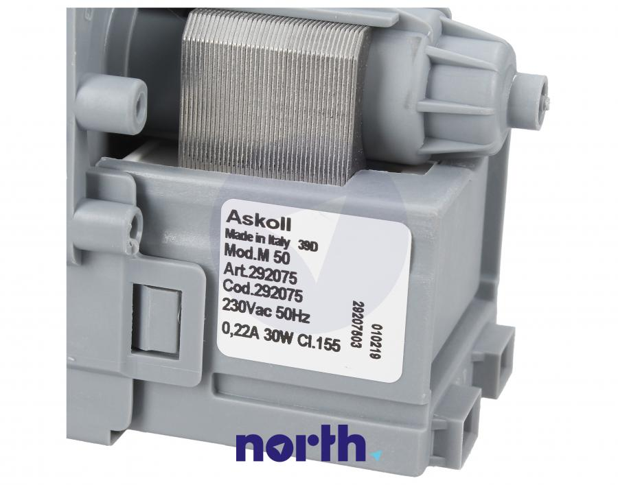 Pompa odpływowa kompletna (silnik + obudowa) do pralki Bosch 292075,3