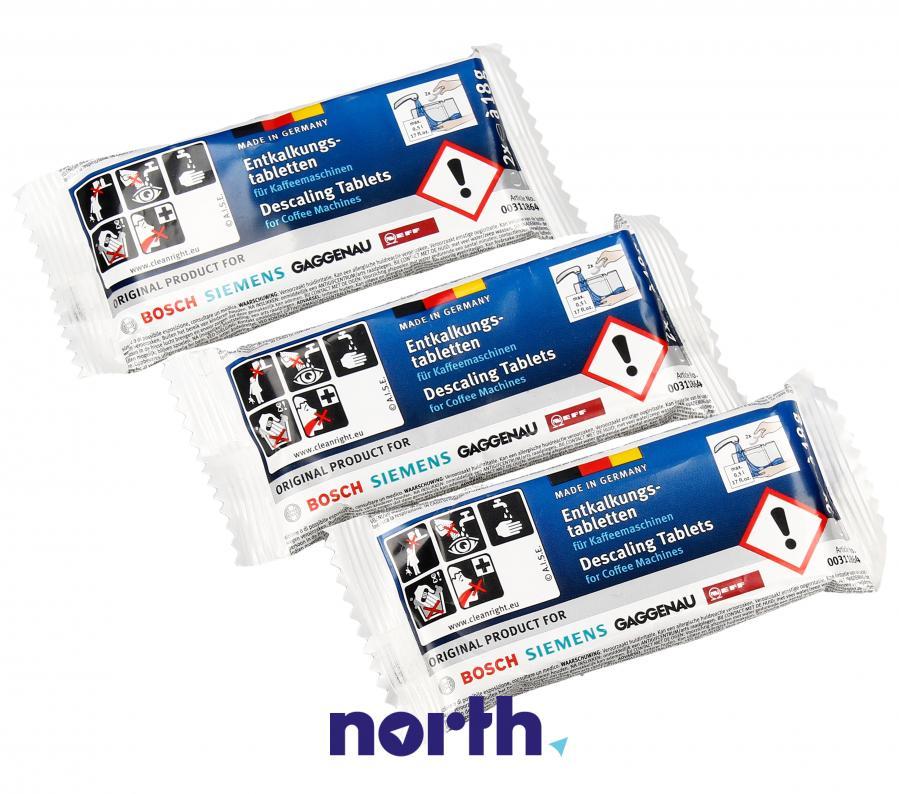 Tabletki odkamieniające do ekspresu Bosch TZ60002 00311864,2
