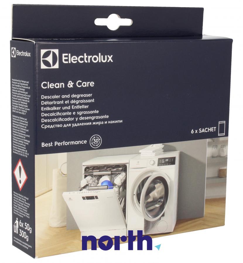 Środek czyszczący do zmywarki i pralki Electrolux E6WMDW06 9029798064 6szt. 300g,0