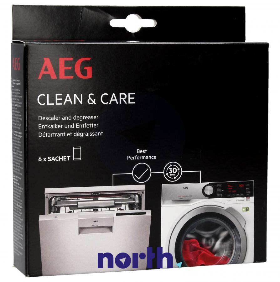 Środek czyszczący do zmywarki i pralki AEG 9029798049 300g,0