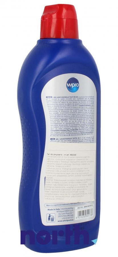 Żel do mycia naczyń WHIRLPOOL/INDESIT 484010678152 1szt. 750ml,1