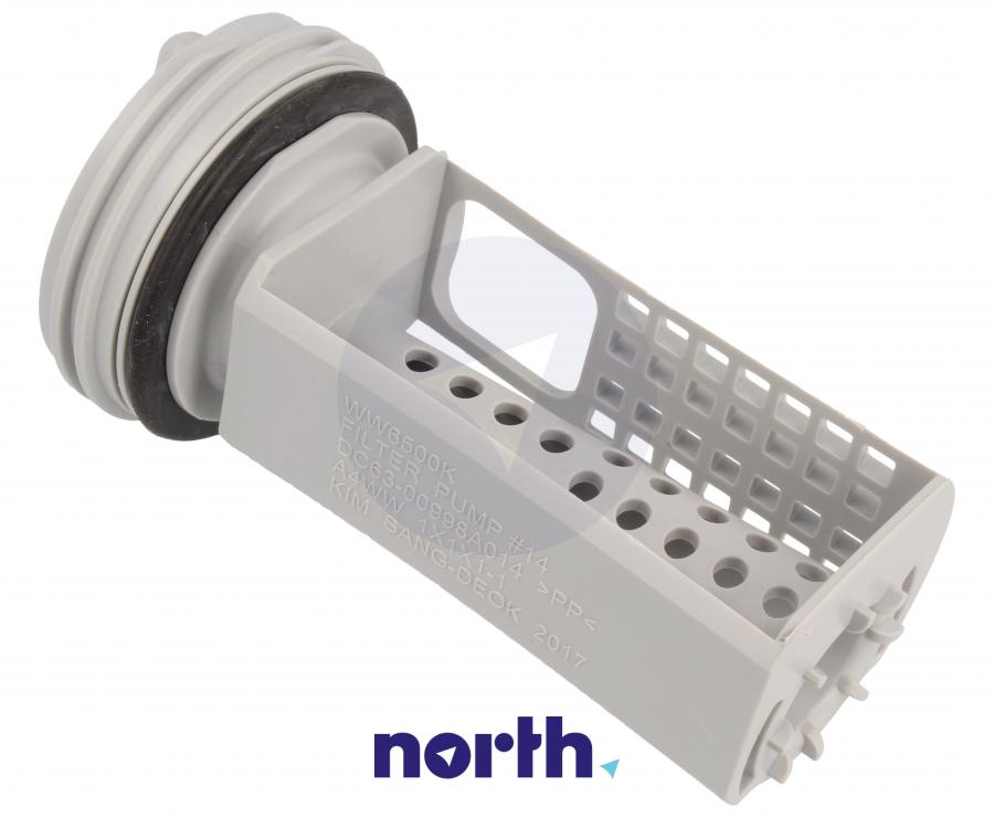 Filtr pompy odpływowej do pralki Samsung DC9715695A,2