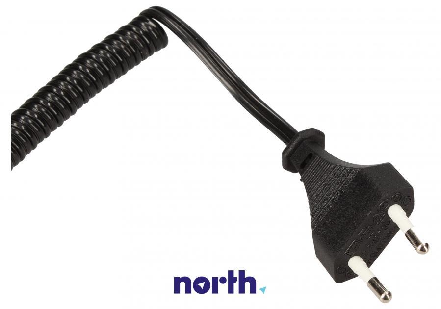 Kabel zasilający do golarki Braun spiralny,2