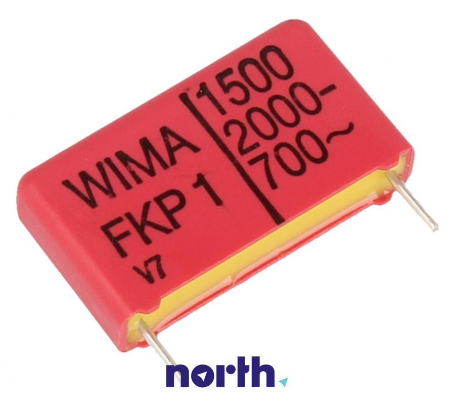 Kondensator impulsowy FKP1 1.5pF/2000V FKP1U011505B00JSSD Wima,0