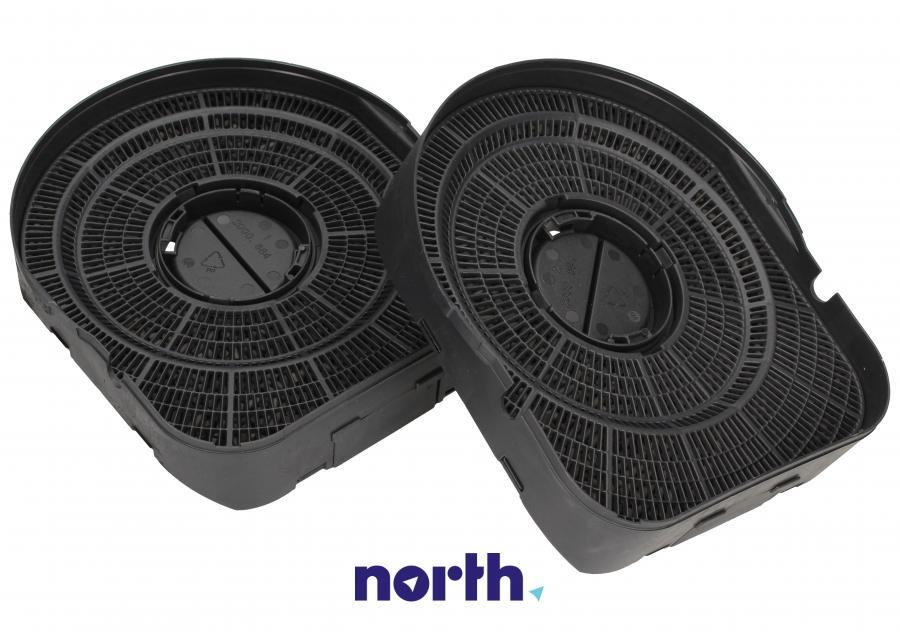 Filtr węglowy w obudowie okrągły do okapu Amica 1000560,1
