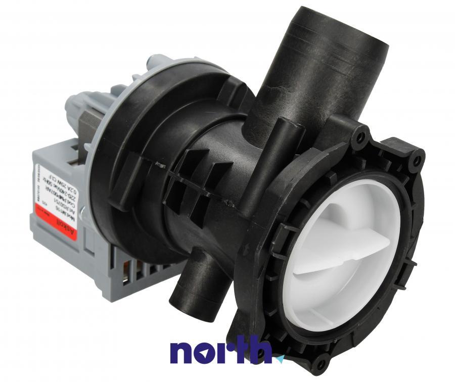 Pompa odpływowa kompletna (silnik + obudowa) do pralki Indesit,0