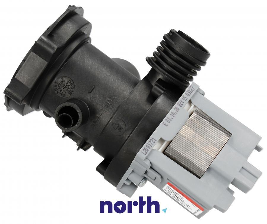 Pompa odpływowa kompletna (silnik + obudowa) do pralki Indesit,2