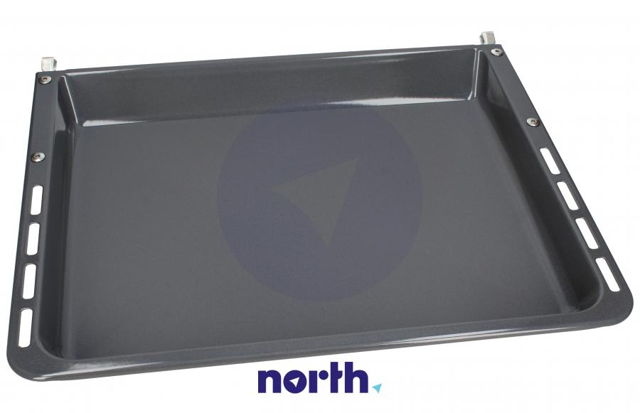 Blacha do pieczenia głęboka (emaliowana) 45.9x40cm do piekarnika Bosch HEZ342072 00680616,0