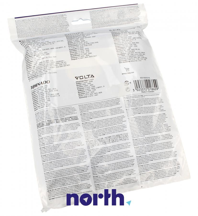 Worki S-Bag Anti-Odour E203 4szt. do odkurzacza Electrolux,1