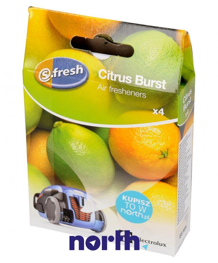 Wkład zapachowy cytrynowy 4szt. S.fresh ZE211 do odkurzacza,0