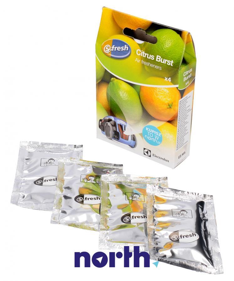 Wkład zapachowy cytrynowy 4szt. S.fresh ZE211 do odkurzacza,2