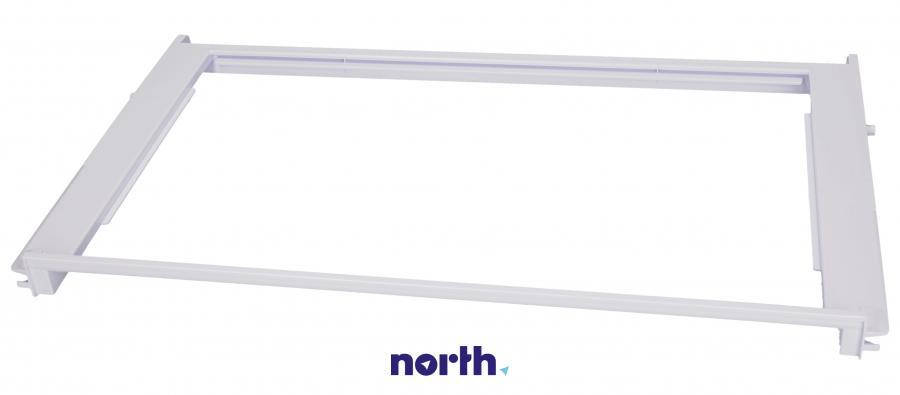 Kompletna ramka półki do lodówki Bauknecht 480131100309,0