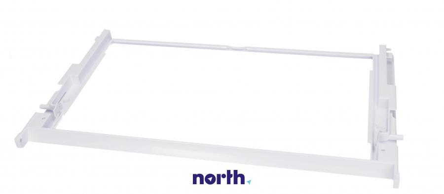 Kompletna ramka półki do lodówki Bauknecht 480131100309,1