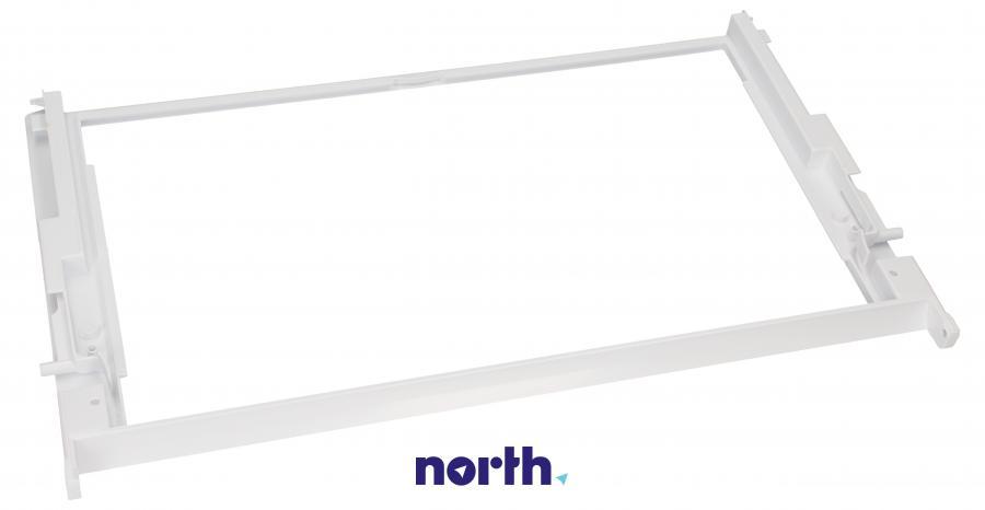 Kompletna ramka półki do lodówki Bauknecht 480131100309,3
