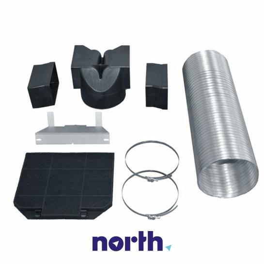 00570590 Zestaw do recyrkulacji powietrza  BOSCH/SIEMENS,0