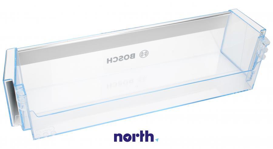 Dolna półka na drzwi chłodziarki do lodówki Bosch 00743239,1