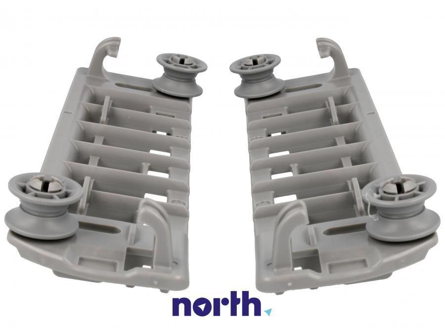 Mocowanie szuflady na sztućce z rolkami do zmywarki Bosch 00625710,3