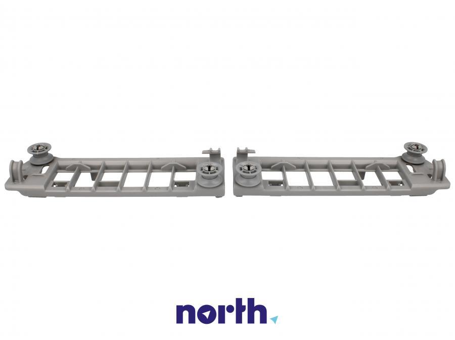 Mocowanie szuflady na sztućce z rolkami do zmywarki Bosch 00625710,4