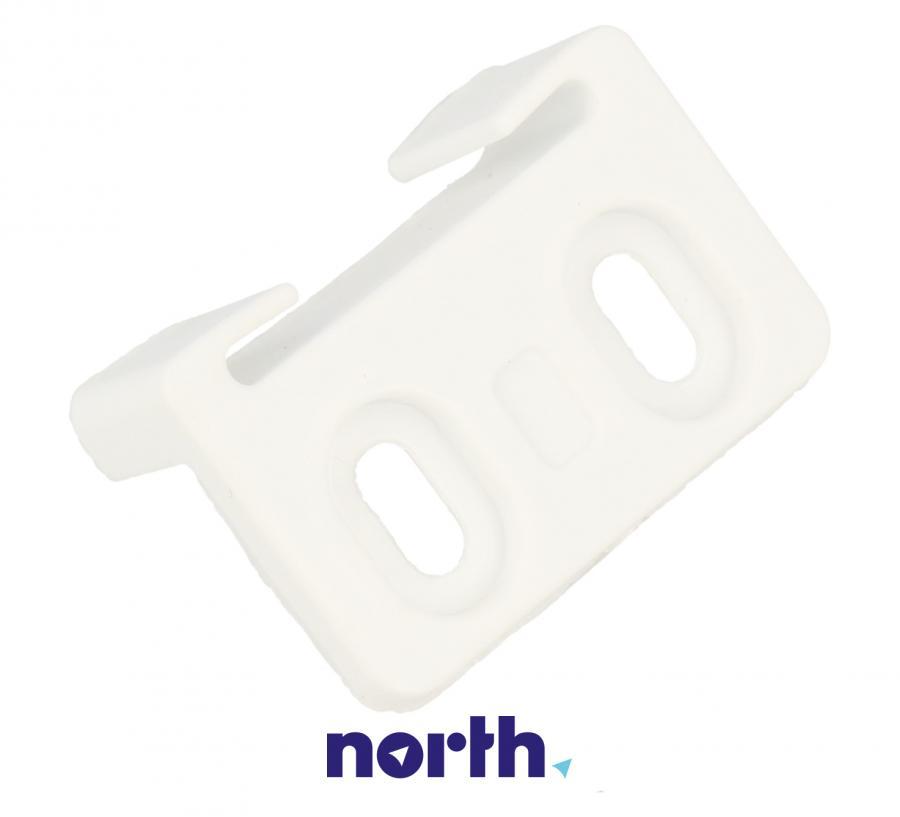 Łącznik zawiasu drzwiczek górnej zamrażarki do lodówki Amica 1022465,0