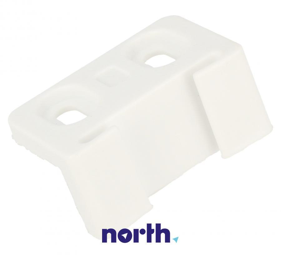 Łącznik zawiasu drzwiczek górnej zamrażarki do lodówki Amica 1022465,1
