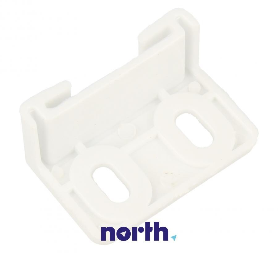 Łącznik zawiasu drzwiczek górnej zamrażarki do lodówki Amica 1022465,2
