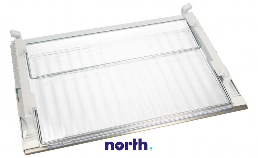 Półka szklana z ramkami do komory chłodziarki do lodówki Siemens 00687884,1