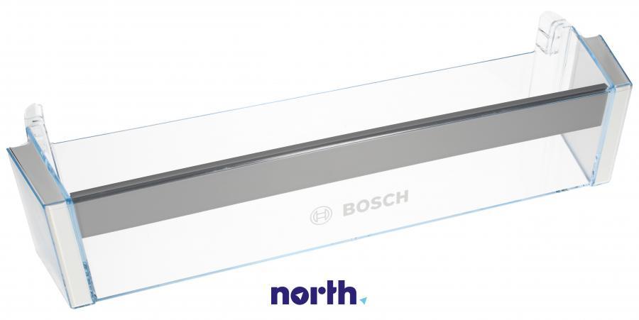 Dolna półka na drzwi chłodziarki do lodówki Bosch 00744473,0