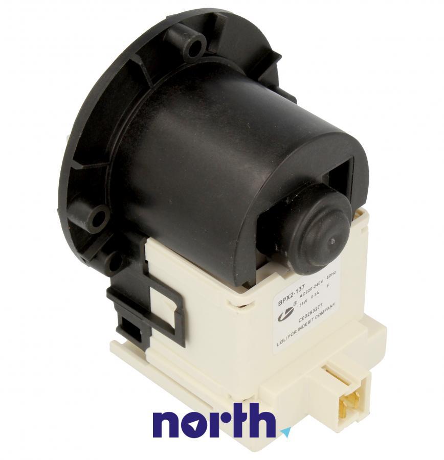 Silnik pompy odpływowej do pralki Indesit 482000088044,1