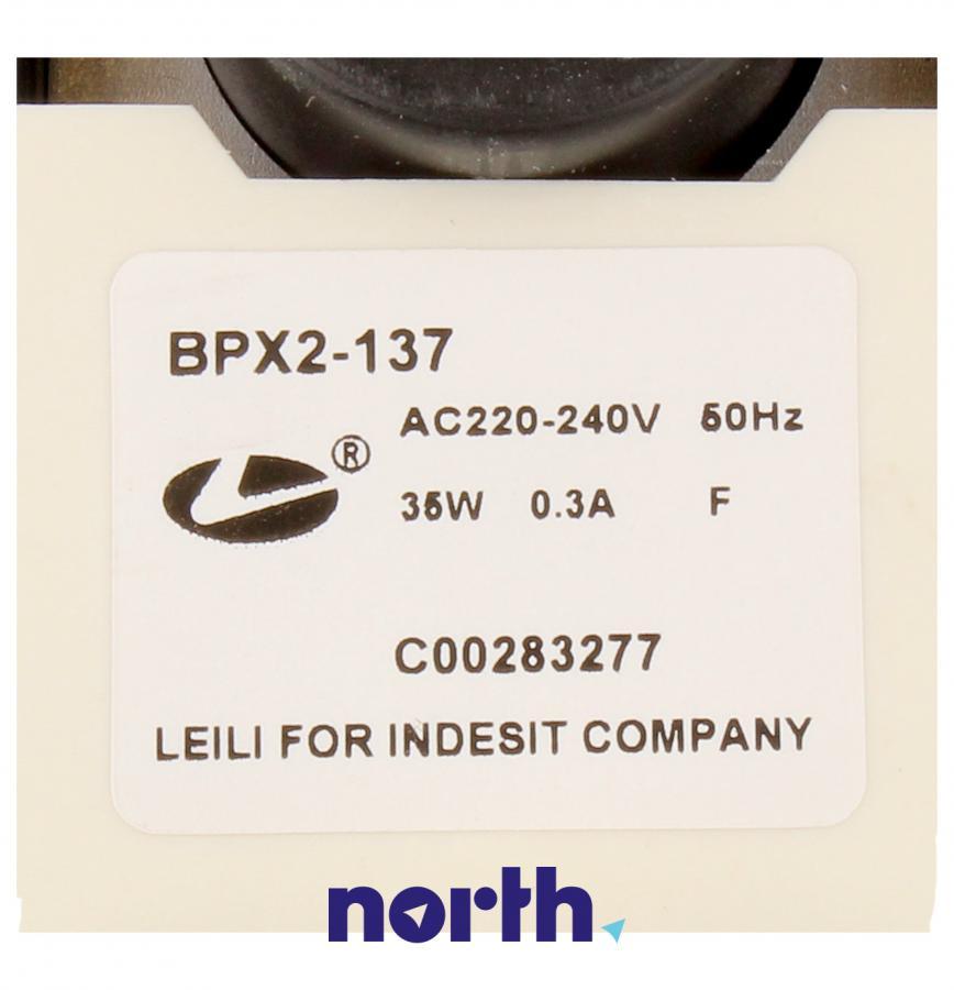 Silnik pompy odpływowej do pralki Indesit 482000088044,3