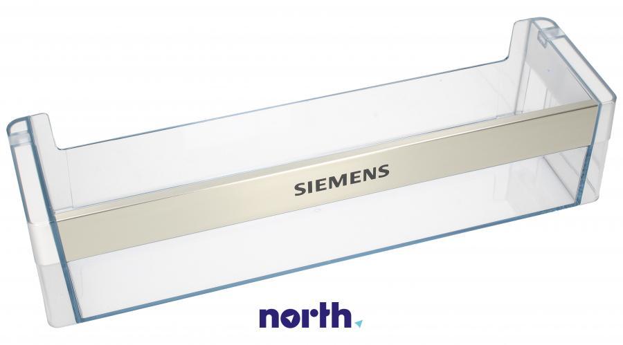 Dolna półka na drzwi chłodziarki do lodówki Siemens 00704703,0