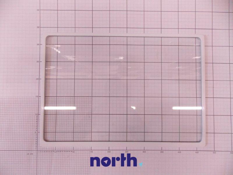 Półka szklana z ramkami do komory chłodziarki do lodówki Amica 1023495,0