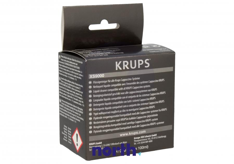 Płyn do czyszczenia obiegu mleka do ekspresu 200ml Krups XS900010,2