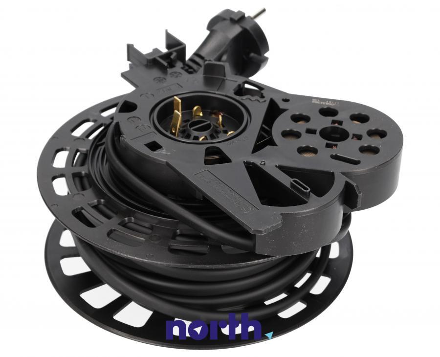 Zwijacz kabla z kablem zasilającym i wtyczką do odkurzacza Siemens 00751933,1