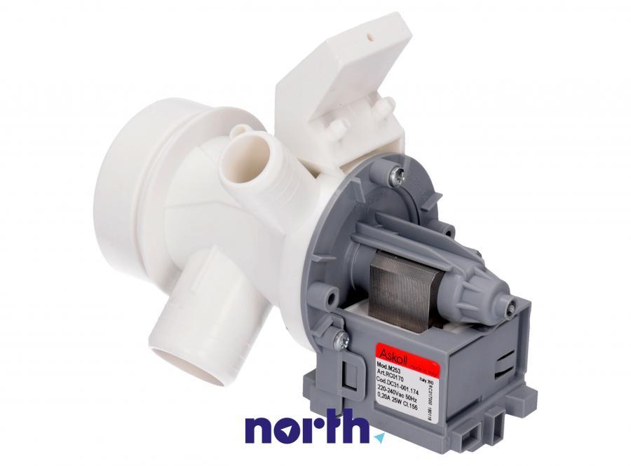 Pompa odpływowa kompletna (silnik + obudowa) do pralki Amica 1023404,1