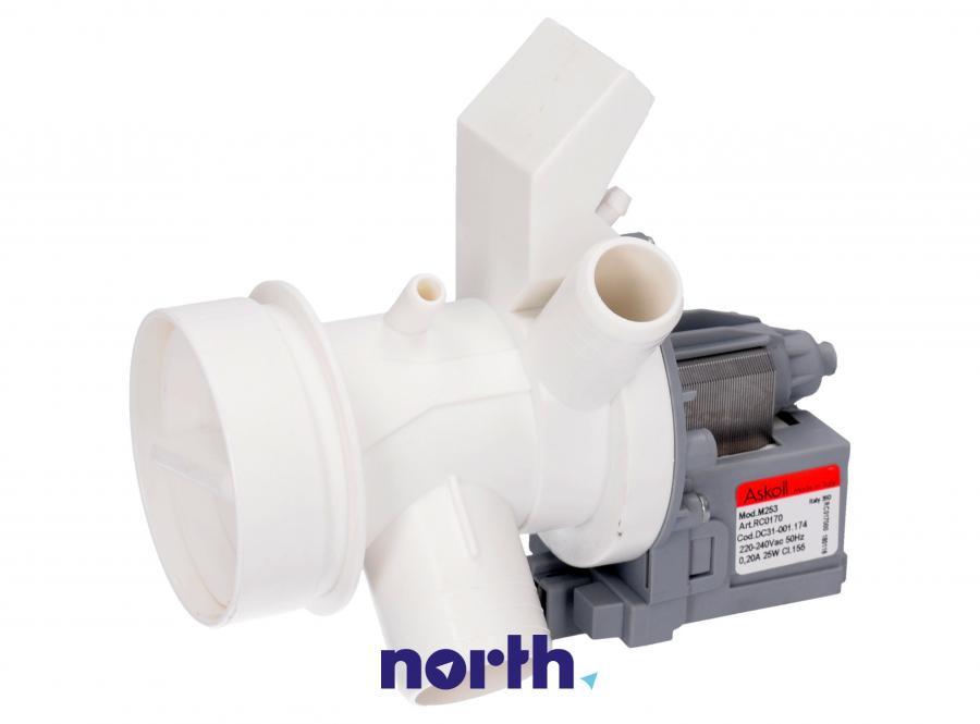 Pompa odpływowa kompletna (silnik + obudowa) do pralki Amica 1023404,3