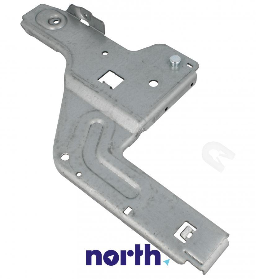 Lewa płytka zawiasu do zmywarki Bosch 00658797,0
