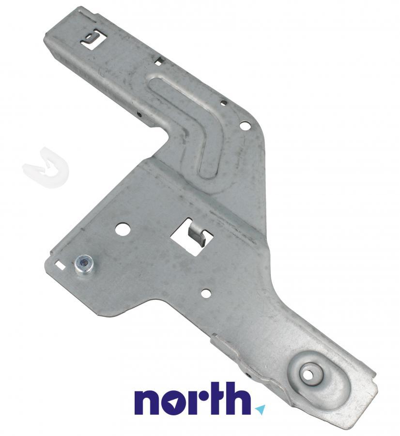 Lewa płytka zawiasu do zmywarki Bosch 00658797,1
