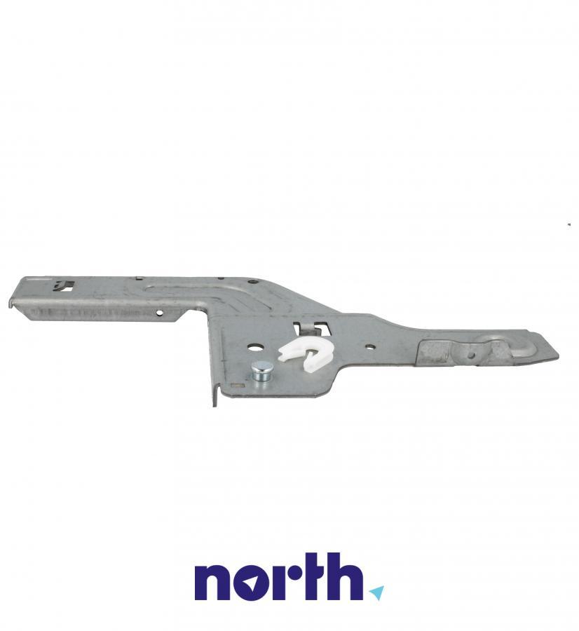 Lewa płytka zawiasu do zmywarki Bosch 00658797,3