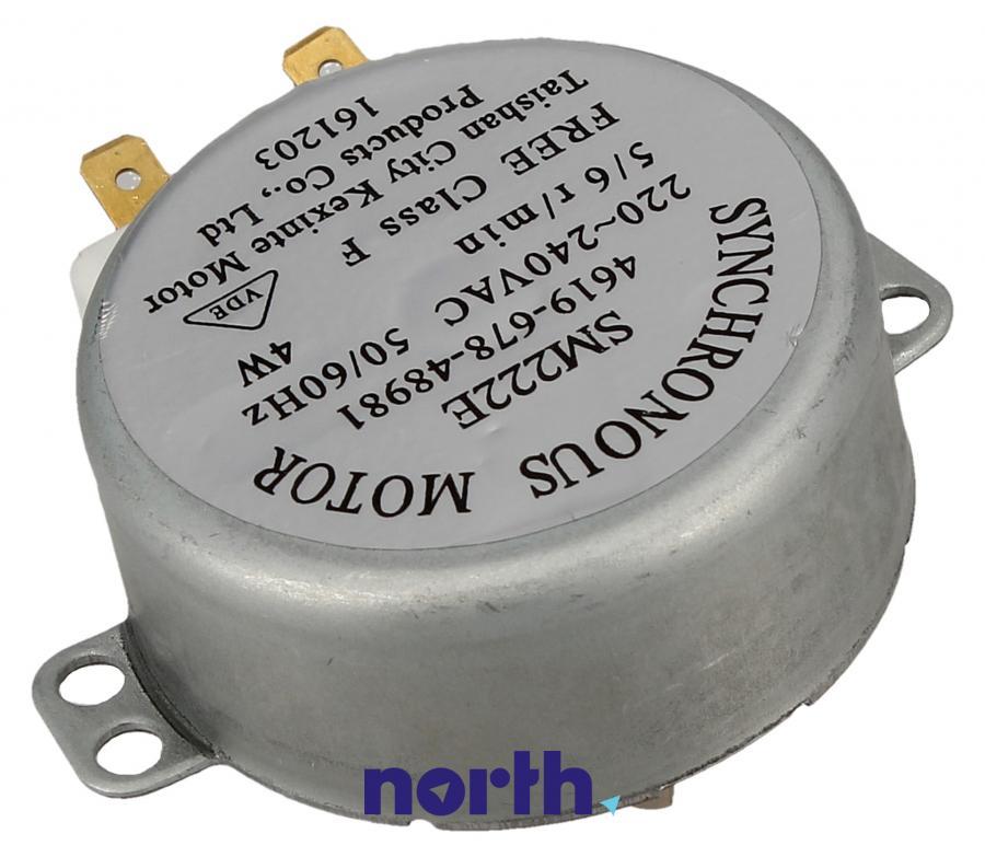 Silnik napędowy talerza do mikrofalówki Whirlpool SM222E 481067848981,1