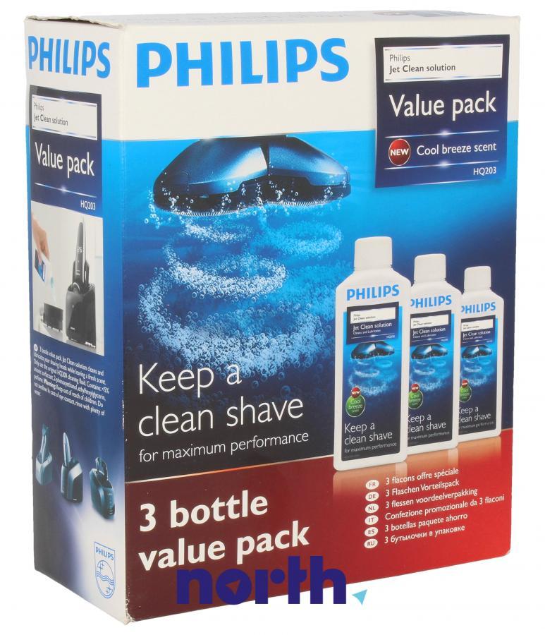 Środek czyszczący 3x300ml do golarki Philips HQ20350,0