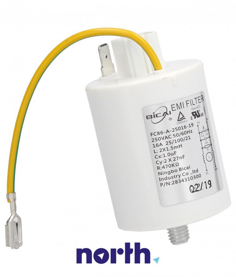 Filtr przeciwzakłóceniowy do pralki Beko 2827980500,0