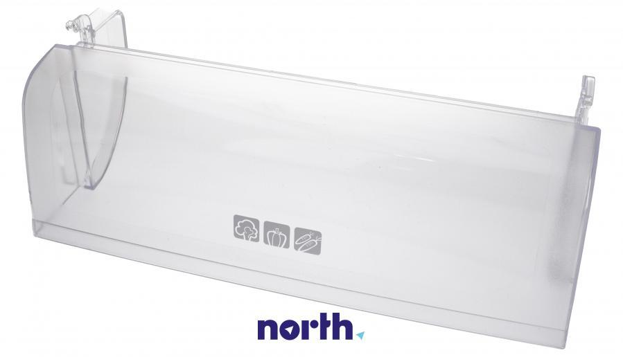 Pokrywa szuflady dolnej komory świeżości do lodówki Sharp GFTA-A117CBRB,0