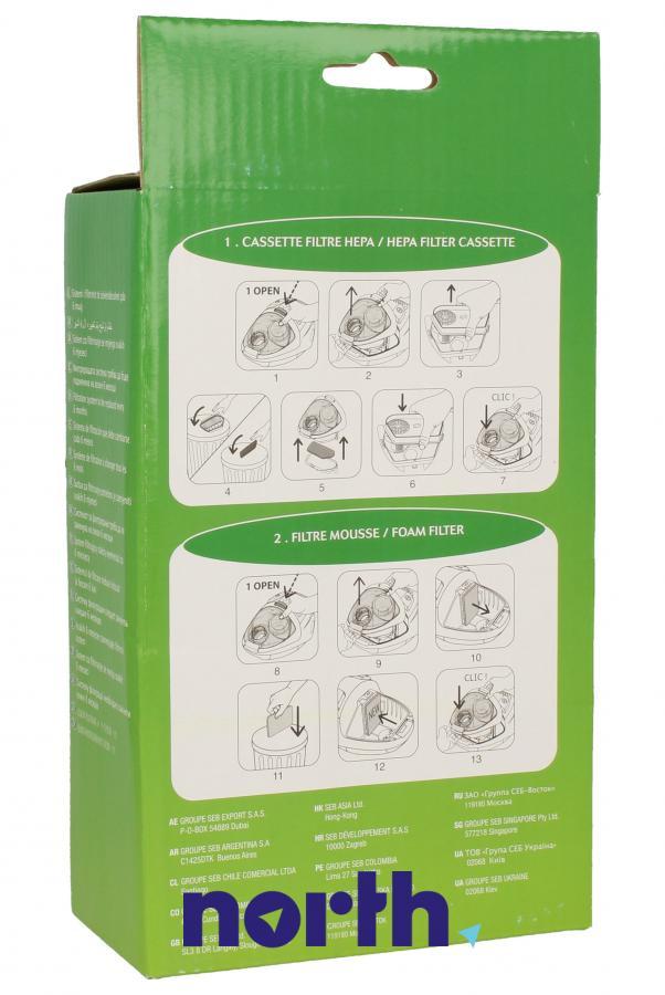 Filtr HEPA do odkurzacza Rowenta ZR004701,1